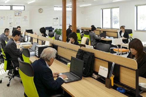 オフィス内の写真